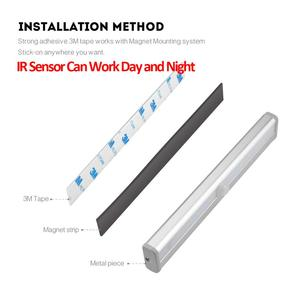Image 5 - Sensor LED Nachtlampje Keuken Wandlamp PIR Motion Sensor Beweging Detecteren kast kast trappen pathway slaapkamer Verlichting