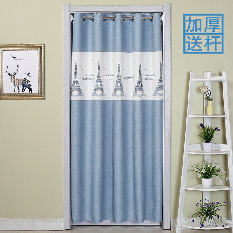 Cloth Door & Window Screens blackout curtain for the kitchen living room bedroom bathroom entrance curtain window valance