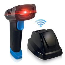 2D QR Barcode Scanner 3 in 1 Handheld Wireless Automatic 1D Bar Code For Android iPhone iPad Windows