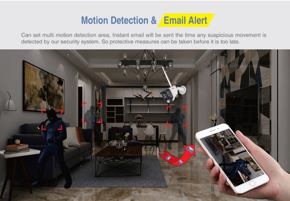 NVR_Motion Detection & Email Alert