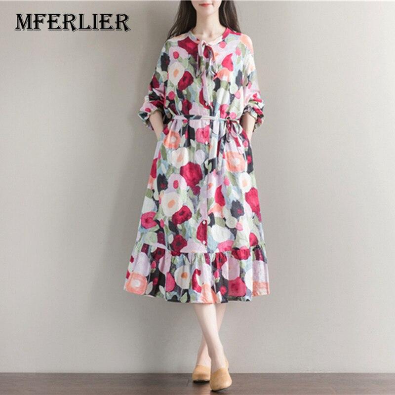 Buy Women Summer Dress Long Sleeve