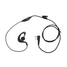 2017 HYS G Type 2Pin PTT Headset Earpiece New Design Walkie Talkie Speaker for bofeng VU5R Transceiver