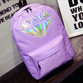 YOUYOU MOUSE Preppy Style Women Backpack Fashion Women Solid Color Teenage Girls School Bags Men Nylon Material Large Backpack