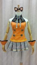 Vocaloid 3 Hatsune Miku SEEU Cosplay completo de piezas conjunto de Suministro