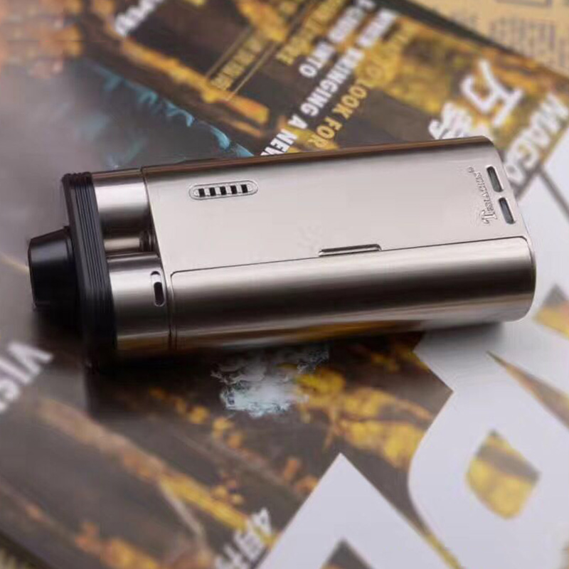 Authentic Electronic Cigarette Starter Kit for Tesla Biturbo Mech Dual RDA Tank Kit  510 Thread Wide Bore Drip Tip Vape Kit hd rda with side adjustable airflow for e cigarette