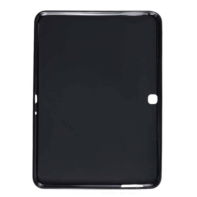 TAB4 10.1 Inch Silikon Smart Tablet Back Cover untuk Samsung Galaxy Tab 4 10.1 Inci T530 T531 T535 SM-T530 Shockproof bumper Case