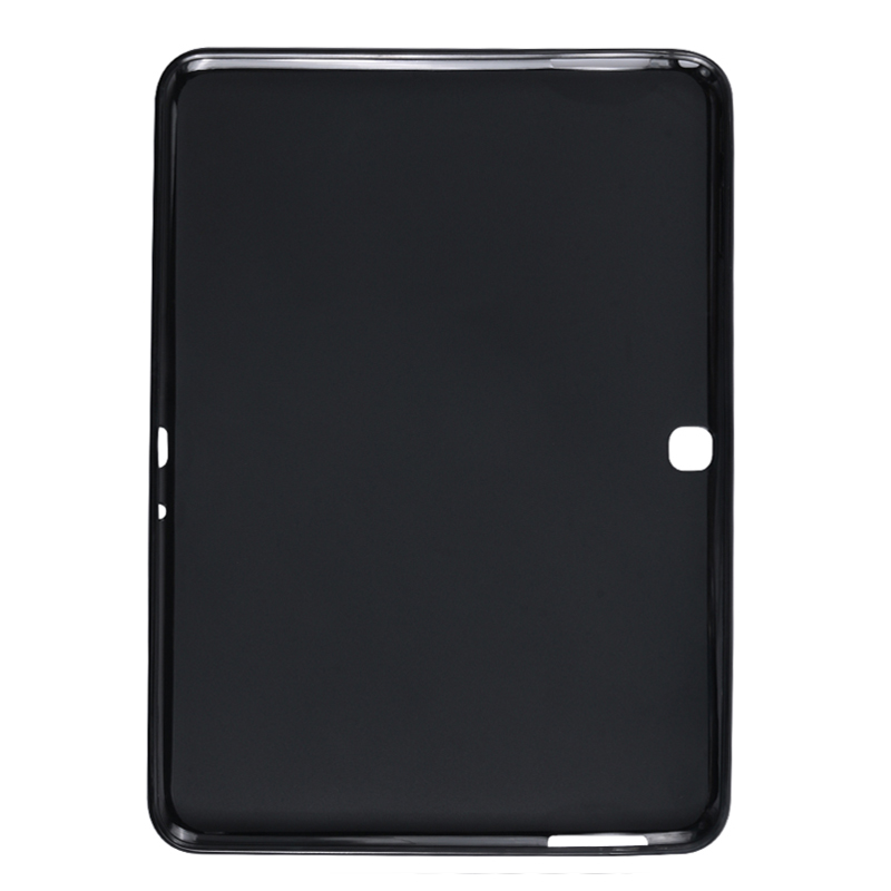 TAB4 10.1inch Silicone Smart Tablet Back Cover For Samsung Galaxy Tab <font><b>4</b></font> <font><b>10.1</b></font>'' T530 T531 T535 SM-T530 Shockproof Bumper Case image