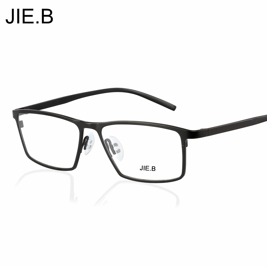 Ultra léger titane lunettes cadres hommes optique lunettes cadre marque lecture clair lunettes costume Prescription lunettes lentilles