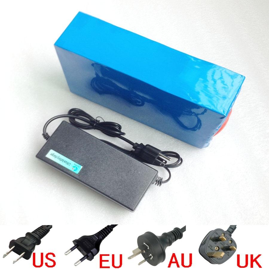 Hot výprodej 48V 30,6AH 48V 30AH Ebike Li-ion baterie použití Sanyo 3,7 V NCR3400mahBF 18650 článků, elektrická kola lithium