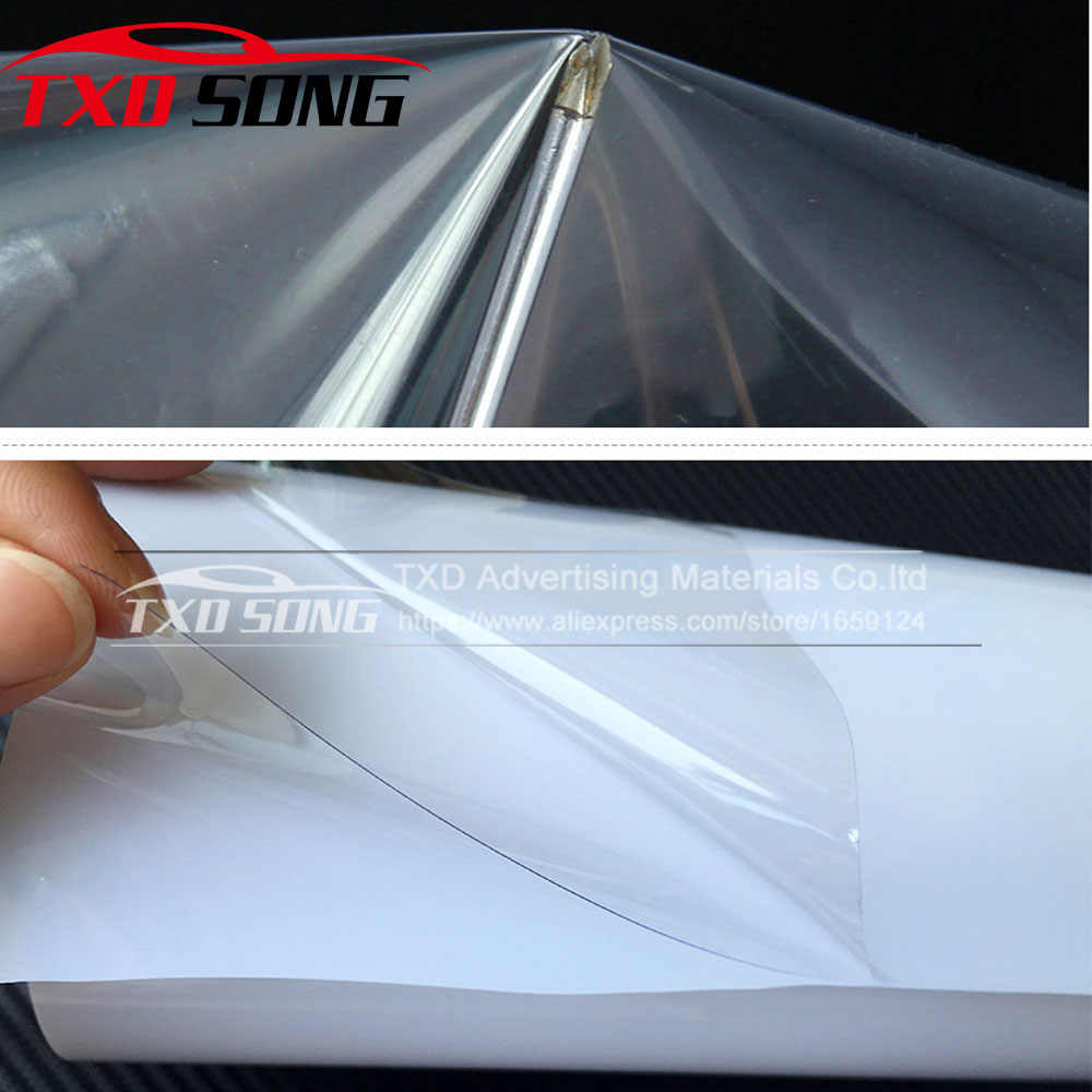 10/20/30/40/50/60 CM X 152 CM/LOT Rhino Huid Auto bumper Hood Paint Protection Film styling Vinyl Clear Transparence Film