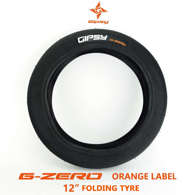 Gipsy G ZORE Orange Label 12 1 75 12 Inches Balance Bike Tyre STRIDE Slick Bicycle