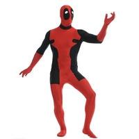 Lycra Superhero Cosplay Marvel Lady Deadpool Costume full body spandex men Deadpool costumes Zentai Deadpool costumes for kids