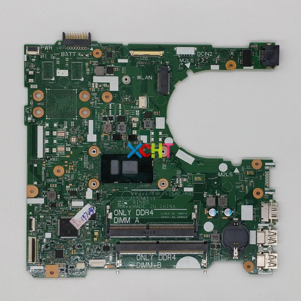 for Dell Inspiron 3567 DKK57 0DKK57 CN 0DKK57 w i5 7200U CPU font b Laptop b