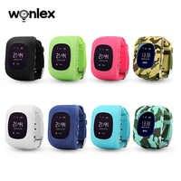 Wonlex Q50 OLED montre GPS pour enfants appel SOS horloge intelligente enfants montre-bracelet localisateur localisateur bébé moniteur Anti-perte