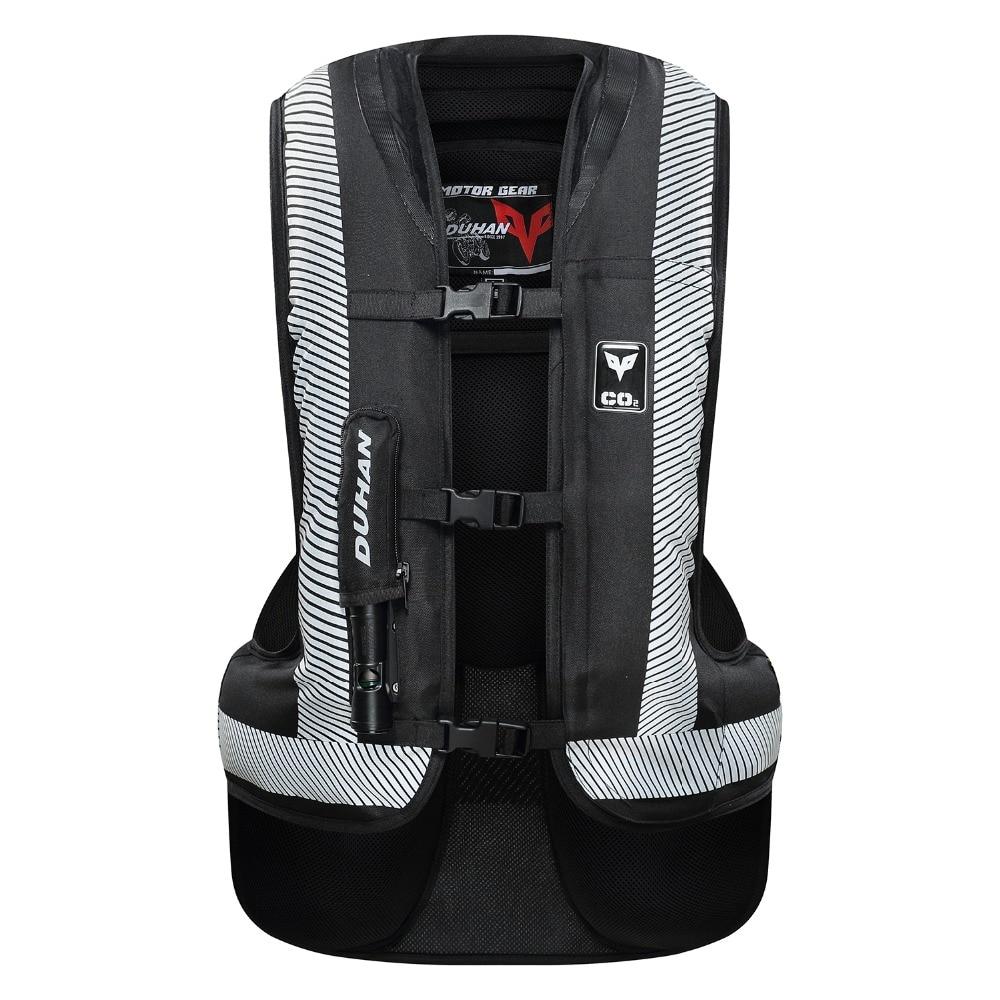 Духан 2018 Новый Обновление moto rcycle Air-bag жилет moto Racing Professional Advanced Air Bag system moto cross защитная подушка безопасности