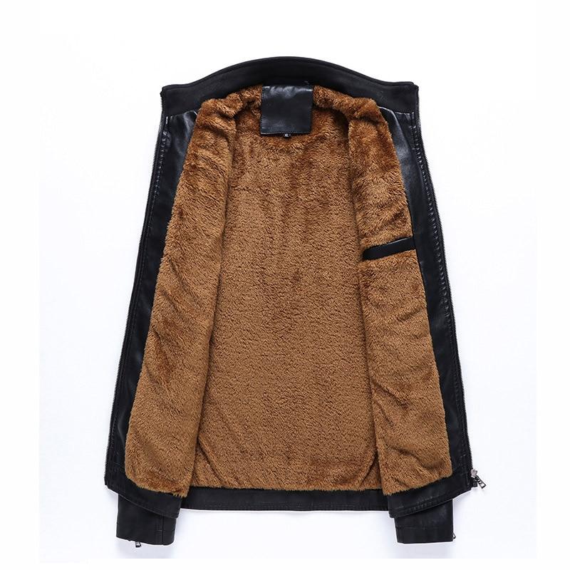 Black Automne Pu Chaud Hiver Polaire Veste Manteau Outwear Nouvelle Cuir yellow Épais L Taille En 2019 Hommes 6xl Casual vw5TSnqx