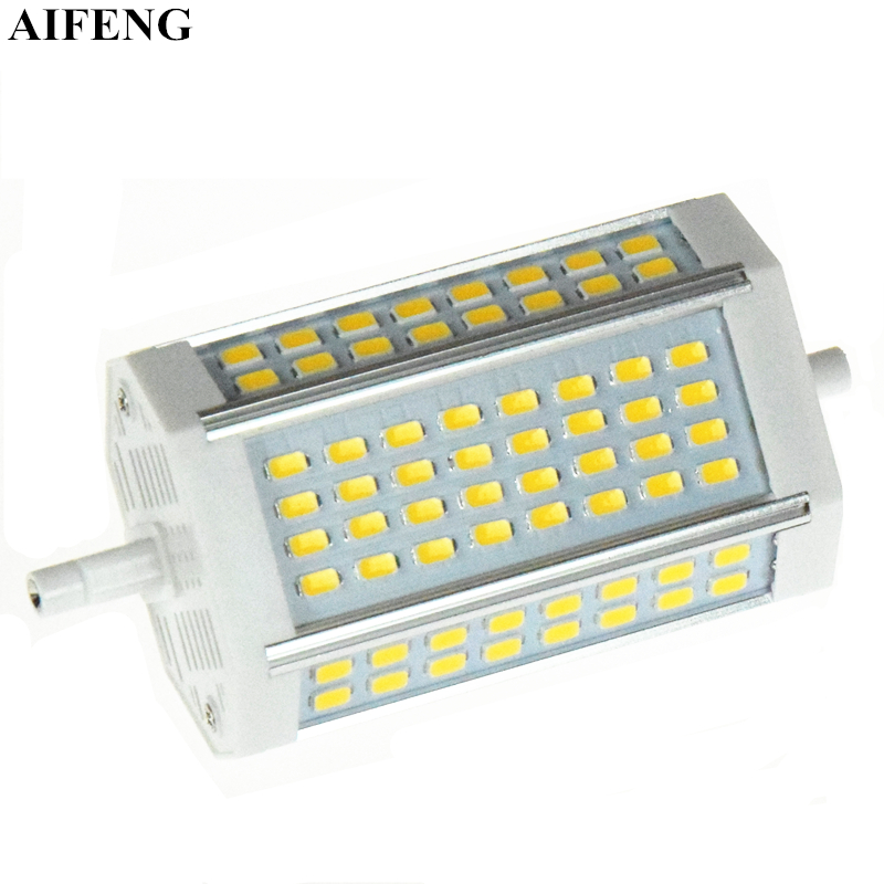 AIFENG R7s Led Lamp 118mm Led R7S Light J118 Led Bulb 30W SMD5730 AC 85V-265V Replace R7s Halogen Floodlight For Indoor Lighting r7s 17w 1620lm 5000k 72 led white light bulb yellow white ac 85 265v