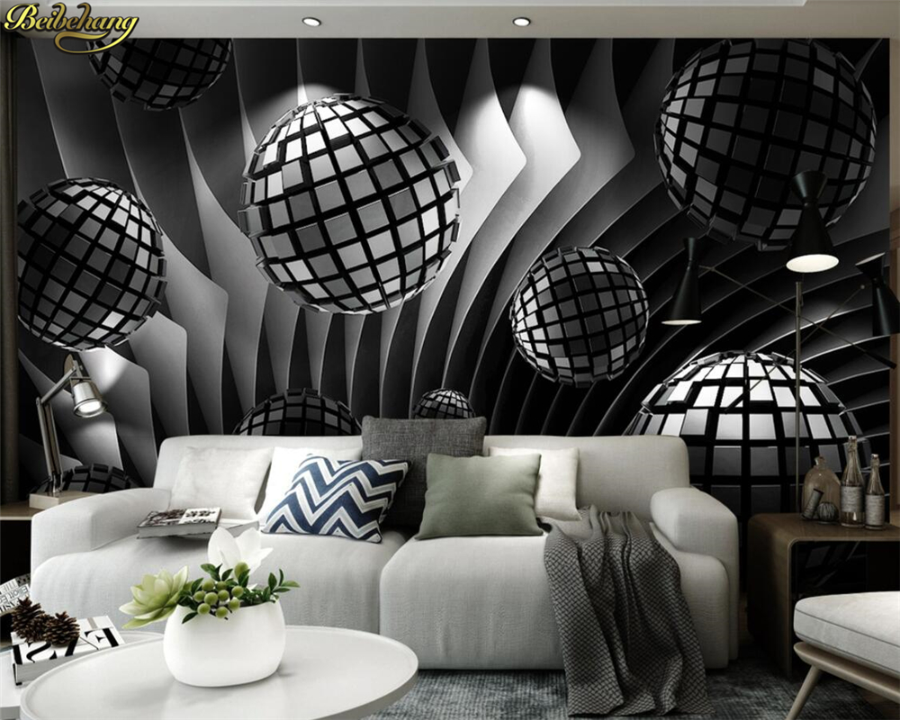 Beibehang Custom Photo Wall Mural 3d Wallpaper Luxury: Beibehang Custom Photo Wallpaper Mural 3d Stereosphere