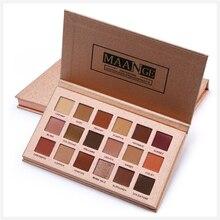 Matte Eyeshadow Pallete 18 Color Colorful Waterproof Concealer Makeup Lasting-Effect Eye Shadow Cosmetic Tools
