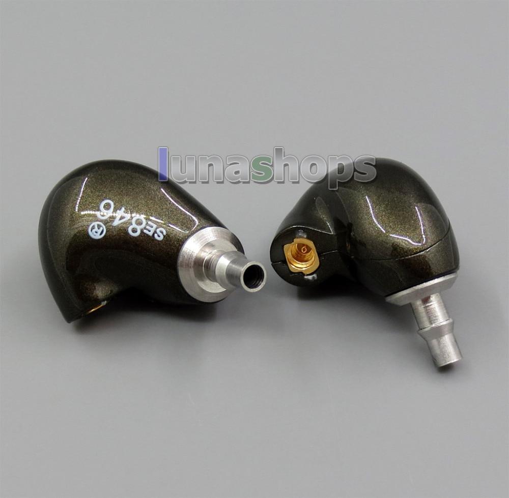 Bricolage fait à la main personnalisé 5 unités Armature dans l'oreille écouteur par Se846 boîtier de coque