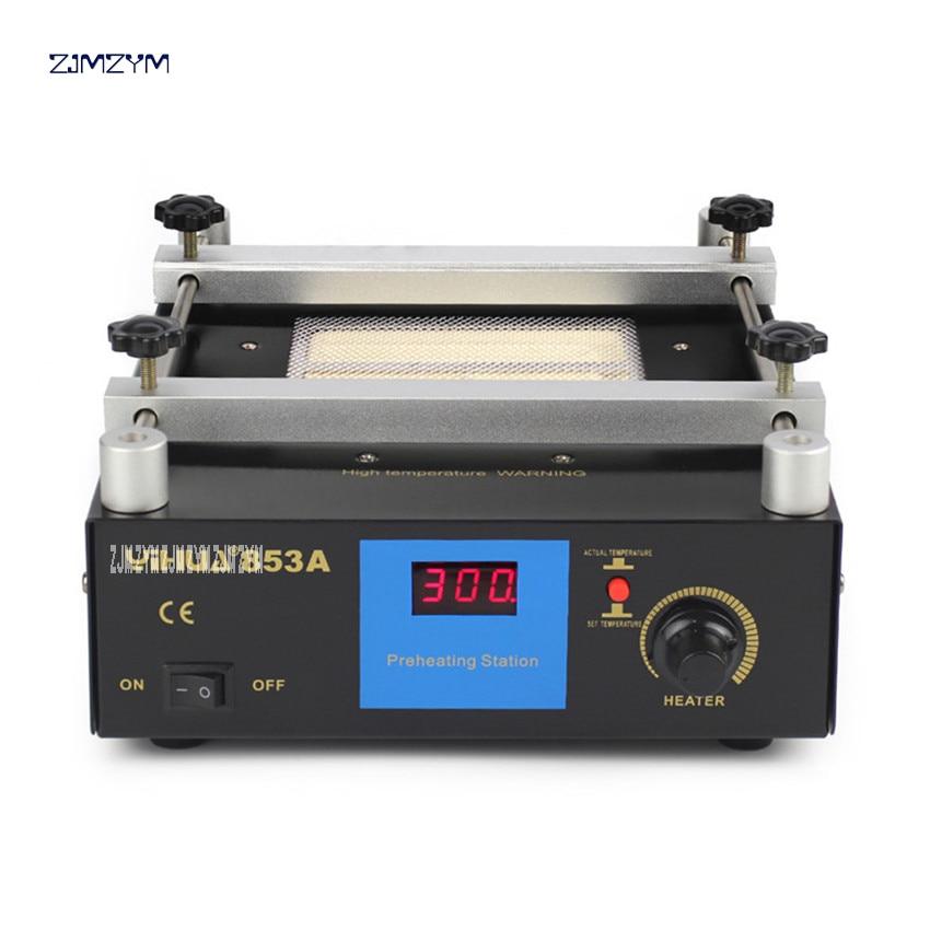 все цены на YIHUA-853A constant temperature lead - free preheating station BGA rework station digital display heating platform upgrade 600W онлайн