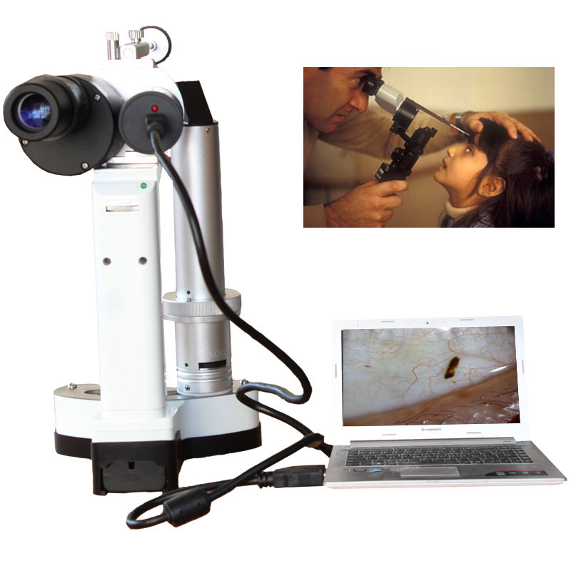 LYL-S Portable Slit Lamp LED Bulb Portable Microscope for Pet hospital ophthalmology Camera Total 10x and 16x Magnification frommer s® portable acapulco ixtapa