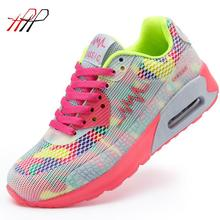 New 2016 Fashion Flats Women Trainers Breathable Sport Woman Shoes Casual Outdoor Walking Women Flats Zapatillas Mujer 663