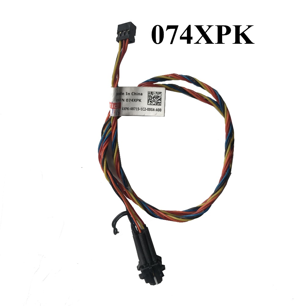 Computer & Office Adroit Used For Dell Optiplex 390 3010 74xpk 074xpk Power Switch Button Cable 100% High Quality Good Taste