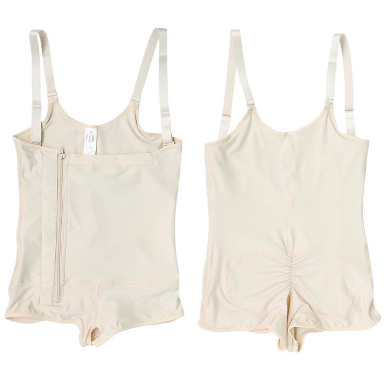 Plus Size Hot Latex Women/'s Body Shaper Post Liposuction Girdle Clip and Zip Bodysuit Vest Waist Shaper Reductoras Shapewear (9)