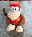 5 unids/lote 20 cm 8 inch Super Mario Muñecas de Juguete de Felpa de Mario Bros Larga Cola de Mono de Peluche Juguetes de Los Niños