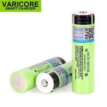 Bateria 18650 3400mah, com original 3.7v para panasonic, adequado para lanternas, mais pontuadas sem proteção