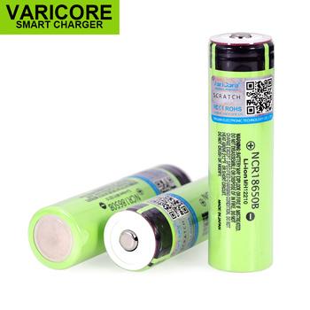 VariCore 18650 3400mAh bateria NCR18650B z oryginalnym 3 7V dla panasonic nadaje się do latarek Plus wskazał brak ochrony tanie i dobre opinie NCR 18650B Li-ion 3001-3500 mAh Baterie Tylko Pakiet 1 1-10PCS 18 4*67 4mm