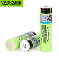 VariCore 18650 3400mAh battery NCR18650B with original 3.7V for panasonic Suitable for flashlights Plus pointed no protection