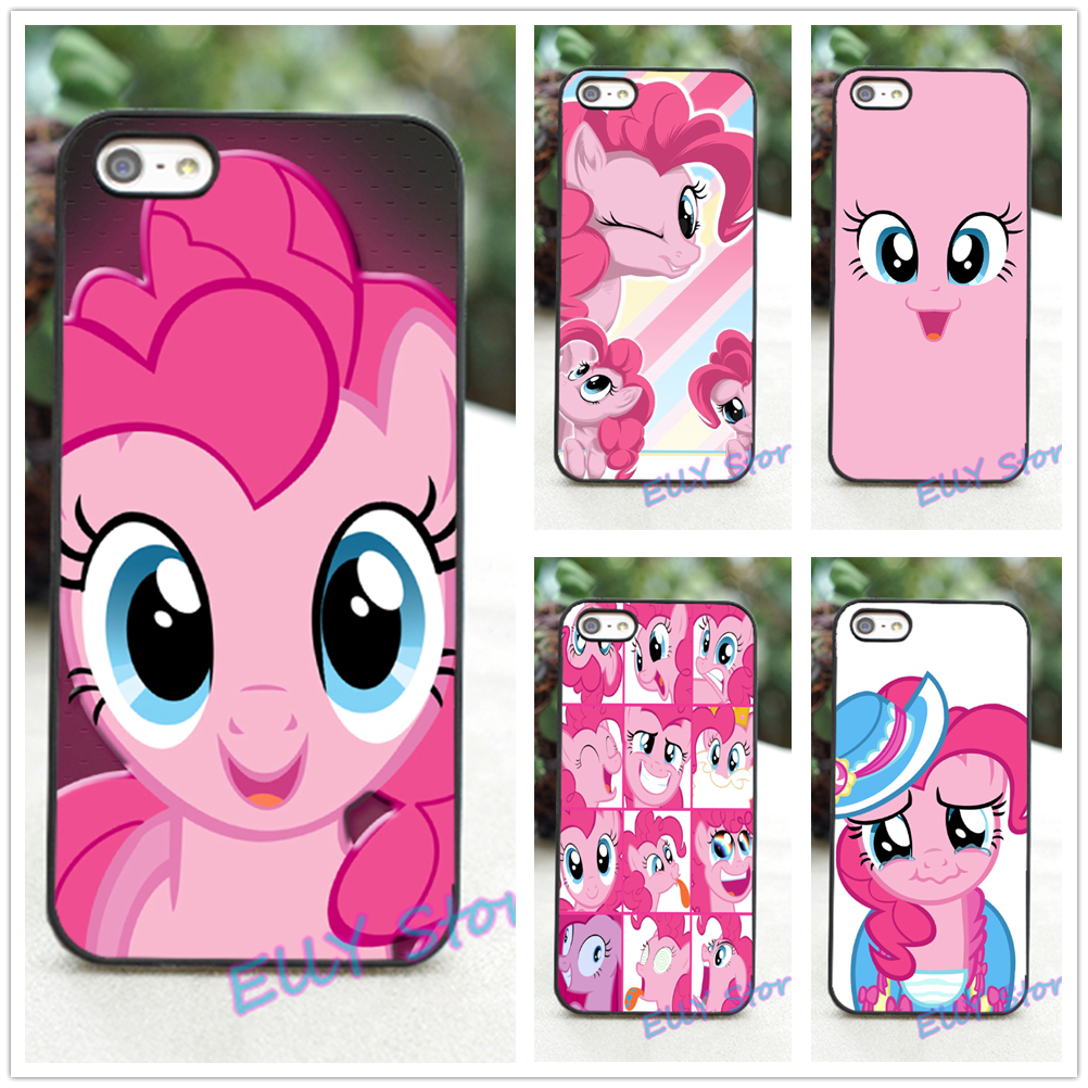 My Little Pony pinkie pie face 4 fashion cover case for iphone 4 4S 5 5S 5C SE 6 6 plus 6s 6s plus 7 7 plus