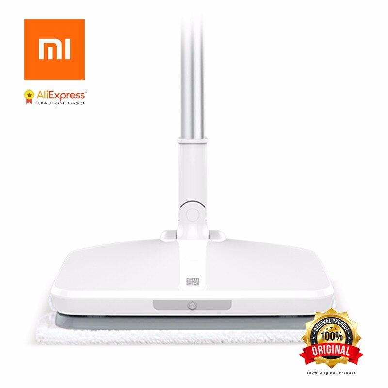 Xiaomi SWDK Mop Elettrico D-260 Palmare Wireless Tergicristallo Pavimento Rondelle Built-In 2000 mAh Batteria Con La Luce Con Lavapavimenti