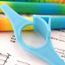 NoEnName_Null высококачественный Многофункциональный пластиковый держатель страниц книги удобный книжный маркер закладки алфввит