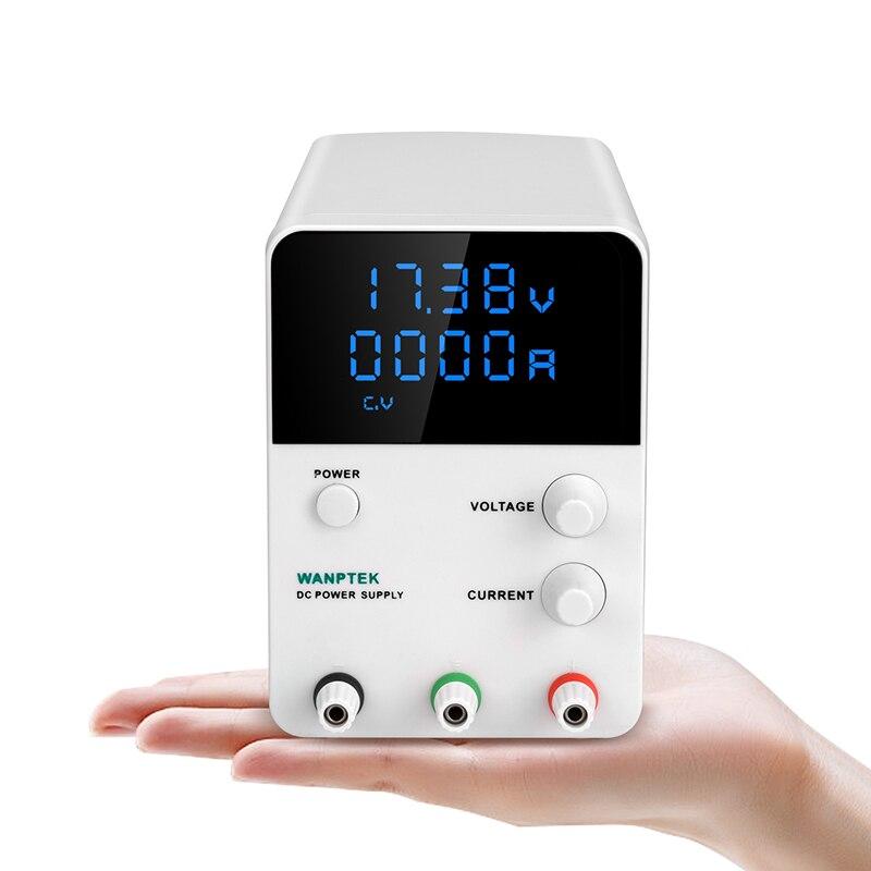 Wanptek laboratoire DC Alimentation GPS3010D 0.01 V 0.001A 30 V 60 V 5A 10A Commutation Numérique Régulateurs DC puissance fournir 0-30 V 0-10A