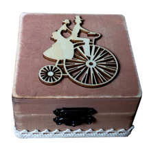 BHomify Ξύλο ρουστίκ Γάμος διακόσμηση δαχτυλίδι Φορητό κουτί ροζ Αγάπη εξατομικευμένη Γάμος Ρουστίκ δαχτυλίδι κουτί Ξύλινο κουτί δαχτυλίδι κάτοχος
