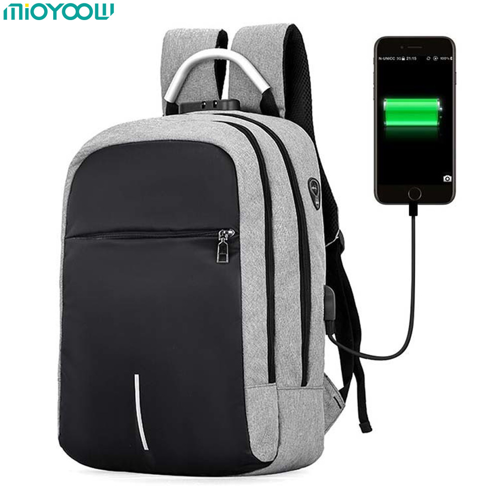 USB Laptop Bag for Macbook Air Pro 13 14 15 15.6 Sleeve Case Women Men Backpacks Schoolbag PC Notebook Computer Bags for Dell HP sony sony xperia z5 compact коралловый 32гб 1 sim 4g lte 3g