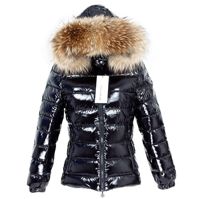 겨울 여성 자켓 소녀 겨울 자켓 자연 모피 코트 후드 여성 자켓 2019 신규-에서다운 코트부터 여성 의류 의  그룹 1