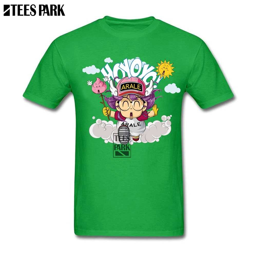 ... Cotton Shirt Men Arale Anime Funny T Shirts Adult Round Collar Short  Sleeve Shirts Personality Teenage ... 7a04e415eca8