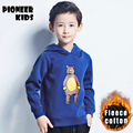 Pioneer Kids 2016  hoodies kids children hoodies kids jackets coats bobo choses boys sweatshirt height for 110-165cm fleece