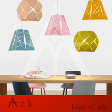 Modern Art colorful painted metal Pendant Lamps Classic for Dining Room Bar restaurant Light  show room цена