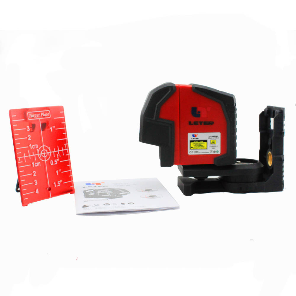 New Leter XL2 Self-Leveling Laser level Cross Line Laser 360 degree rotation