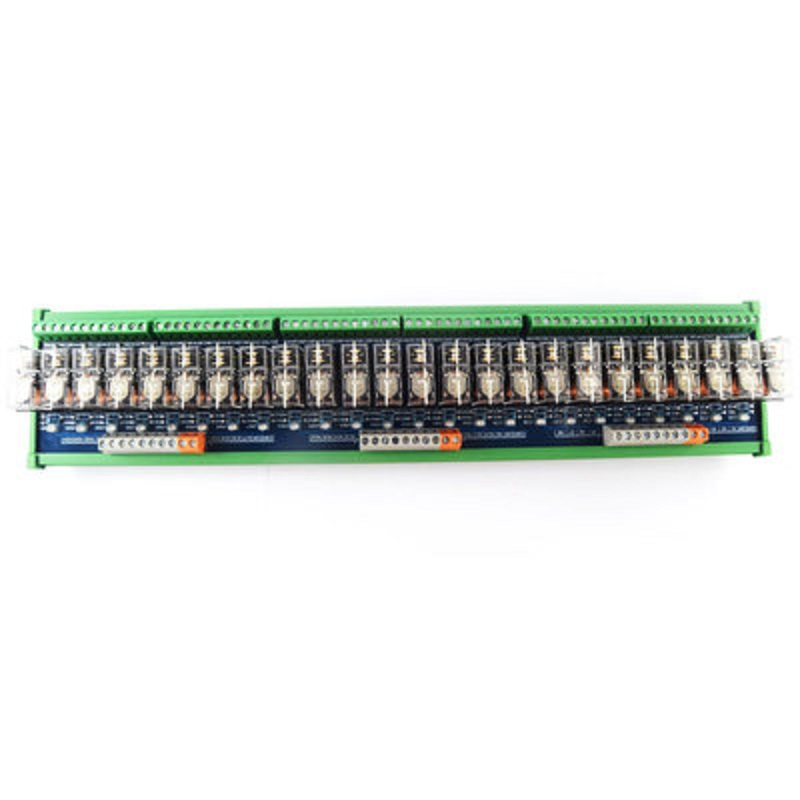 32-way relay module omron OMRON 10A multi-channel solid state relay plc amplifier board ltech dali ps din dali bus power supply din rail 100 240vac 50 60hz input 15vdc 200ma output dali dimming driver for led lights