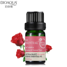 BIOAQUA Brand Pure Rose Essential Oil Liquid Plant Fragrance