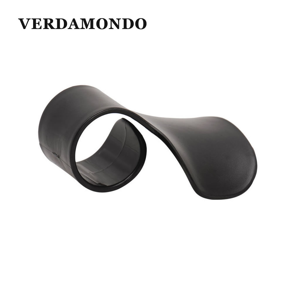Universal Motorcycle <font><b>E</b></font>-Bike Grips Assist Wrist Cruise Control Cramp Clip Grips Black Plastic Throttle Booster Handle image