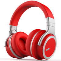 MEIDONG E7PRO Active Noise Cancelling Bluetooth Headphone Wireless Bluetooth Headset with Super HiFi Deep Bass 30 hours Playtime