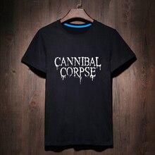 Harajuku Black White Woman Cannibal Lettered T-shirt Gothic T Shirt Woman Tee Street Wear Womens Letter Print Tshirt Heavy Metal