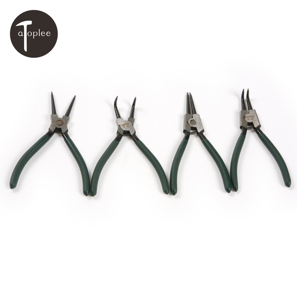 """6/"""" 7/"""" 9/"""" and 12/"""" Circlip Plier Pliers Sets Internal External Bent and Straight"""